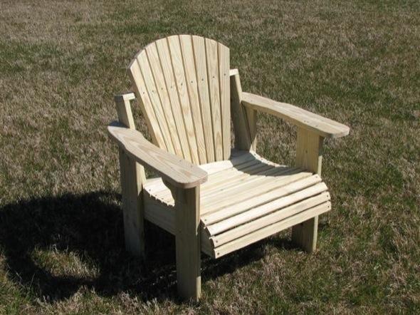 1922 Single Settee Chair