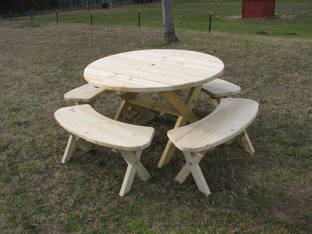 2098 Round Picnic Table