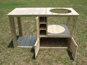 3139_Green_Egg_Smoker_Stand_Custom