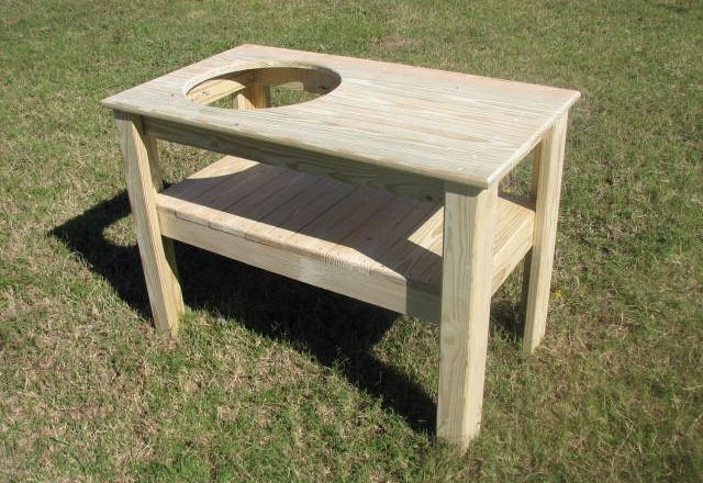 6595 Green Egg Smoker Stand – Basic