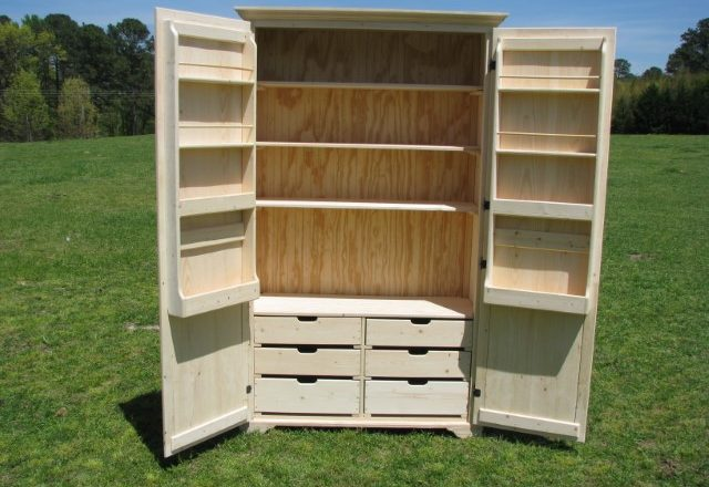 0509 Larder Pantry Cabinet