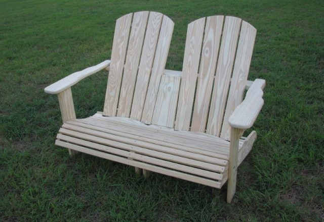 0549 Adirondack Love Seat