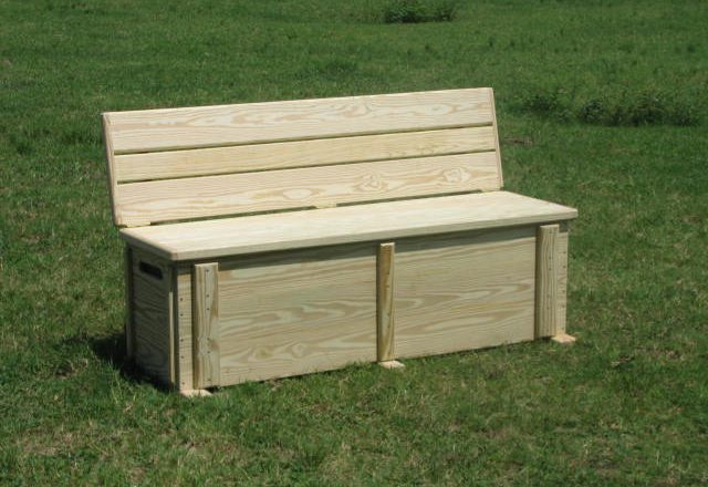 6509 Lake Dock Storage Bench